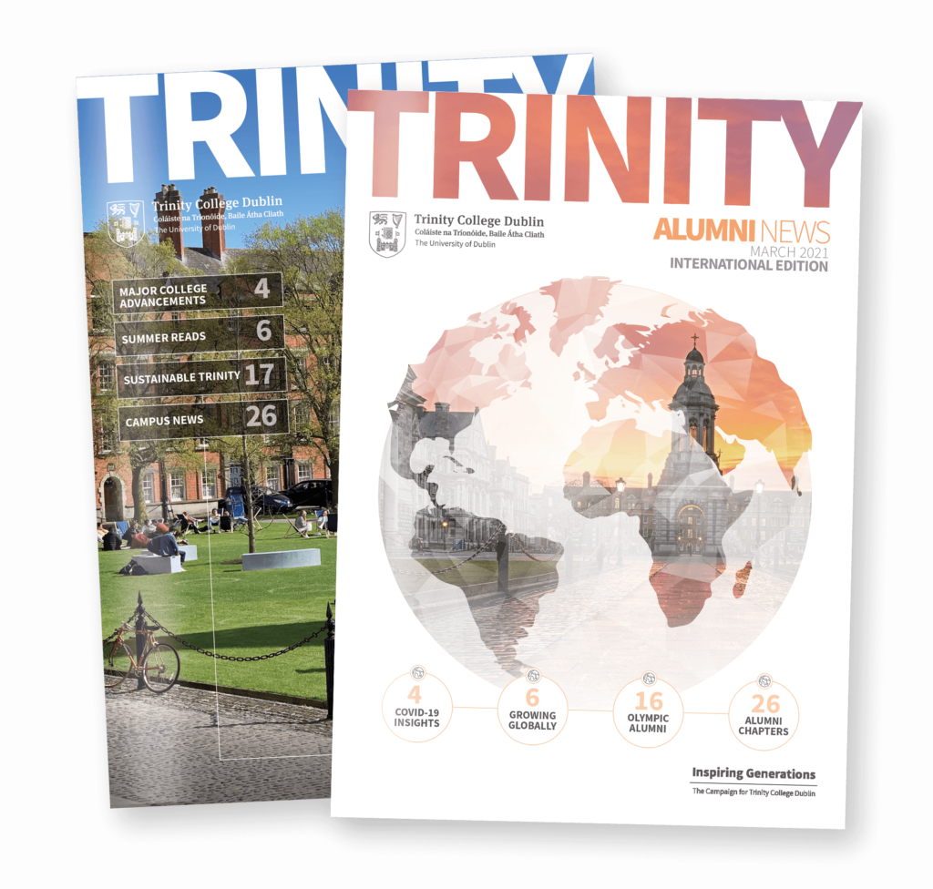 Trinity Alumni news